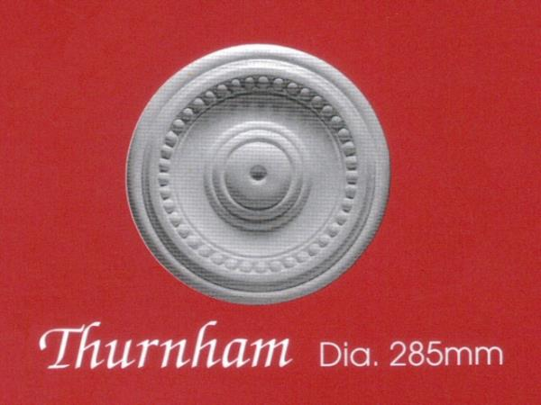 Plaster Centrepiece (Ceiling Rose) - Thurnham - Diameter 285mm