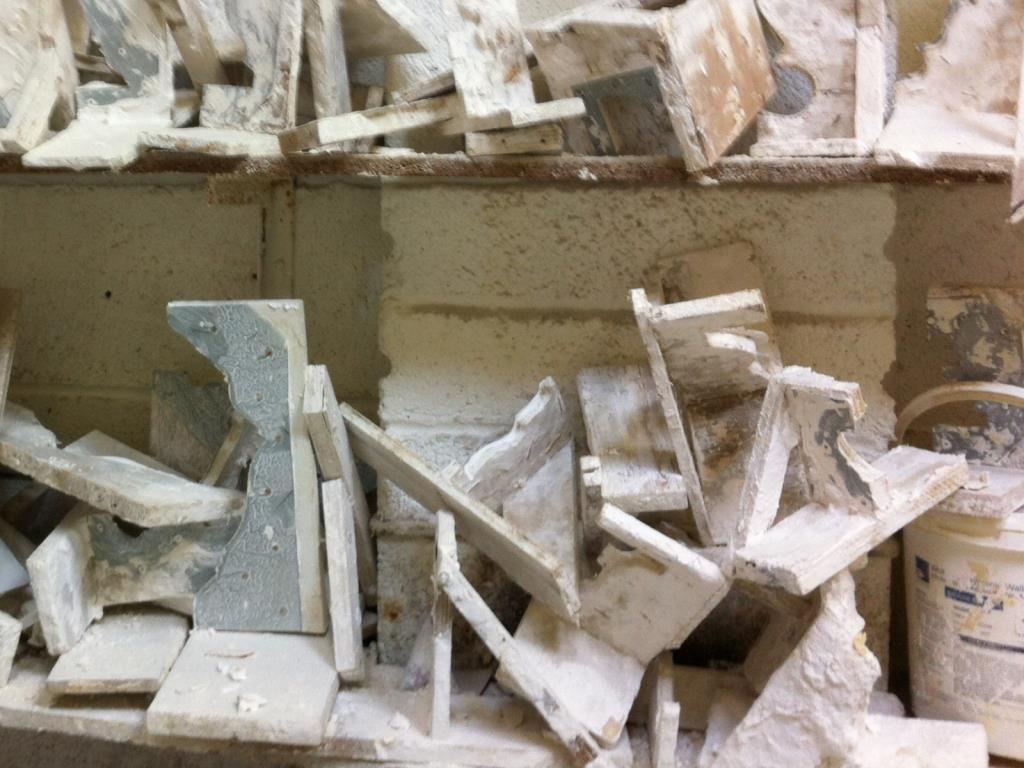 Workshop (Moulds) - A selection of our moulds run by hand to match existing plasterwork
