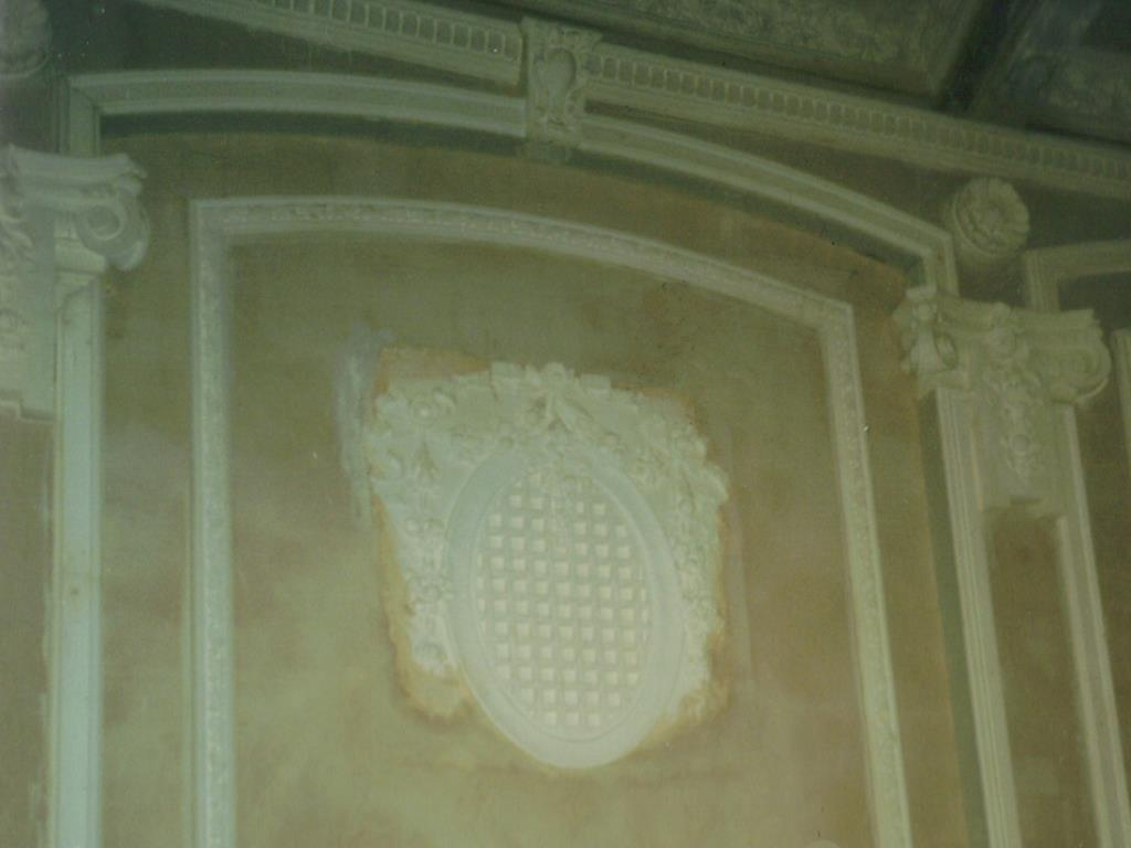 Cinema Restoration (2 of 3) - Installation of the crest, alongside extensive reproduction of ornate plasterwork in Glasgow's oldest cinema building