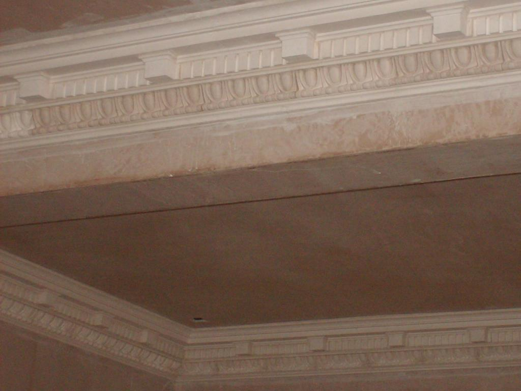 Bespoke Plaster Cornices (5 of 5) - Plaster mouldings completed to customer's own design and ready for painting